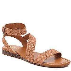 NWOB Franco Sarto Gustar Snake Print Sandals